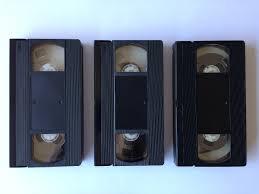 VIDEOCASSETTE -VHS
